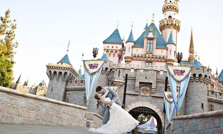 Kraliyet düğünü, Disney