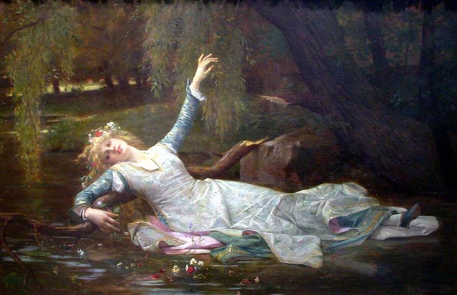 Ophelia, Alexandre Cabanel (1883)