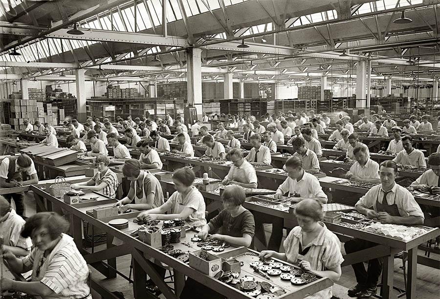 Fabrika-işçileri