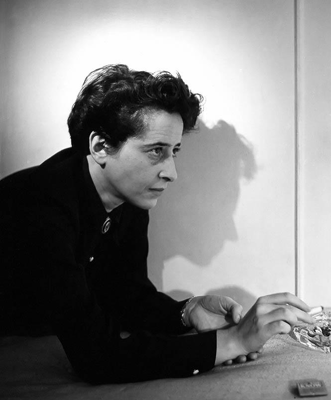 Hannah Arendt, New York City, 1944