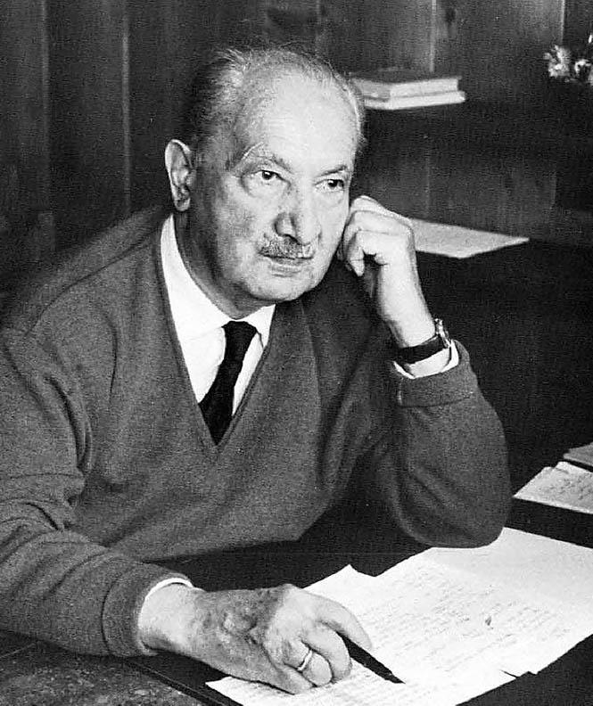 (Martin Heidegger)