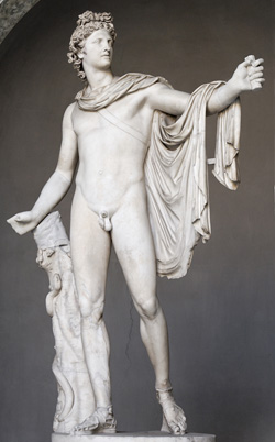 Vatikan Müzesi'nde sergilenen Roma döneminden heykel (2)