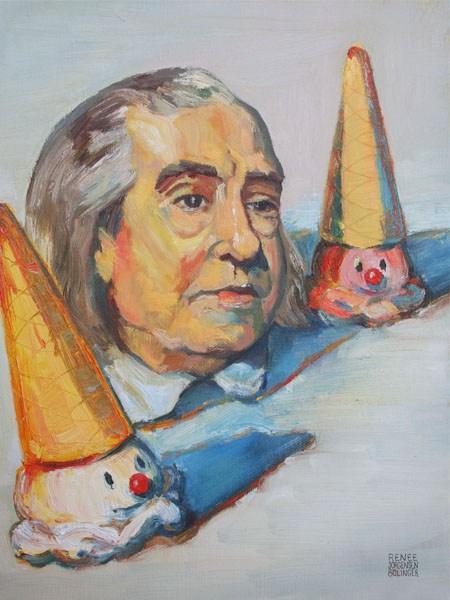 ünlü Ressamların çizim Tarzları Filozofların Portreleriyle Buluşursa