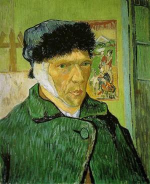 (Otoportre, Vincent van Gogh, 1889)