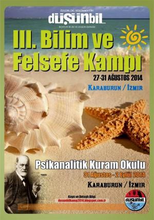 III. Bilim ve Felsefe Kampı Afişi